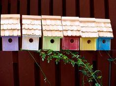 Handmade Cedar Birdhouse by jrables on Etsy, $24.95