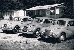 Mit drei F9 im Urlaub in Thüringen, so etwa 1981.  Bild: Isolde Kakoschky