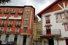 Bermeo en la provincia de Vizcaya. Spain.