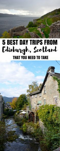 Best tours in Edinburgh, best day trips from Edinburgh, Scotland. Edinburgh day trips!