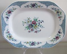 English Porcelain - SPODE MERVILLE DINNER Service=6 place setting=IMMACULATE Condition=Tureen=Platters=Gravy=Plates..... for sale in Muldersdrif (ID:247451883)