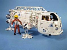 Sci Fi Models, Thing 1, Plastic Sheets, Volkswagen, Live Art, Miniatures, Van, Ladders, Spaceships