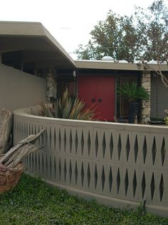 Love this wall. Mid Century Modern Home
