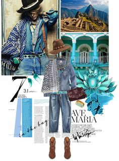 """Kasia Struss Is Peruvian Bohemian"" by lacas ❤ liked on Polyvore"