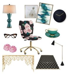 """Magic Salma"" by ninuusa on Polyvore featuring interior, interiors, interior design, home, home decor, interior decorating, PBteen, Jonathan Adler, Pottery Barn and Ballard Designs"