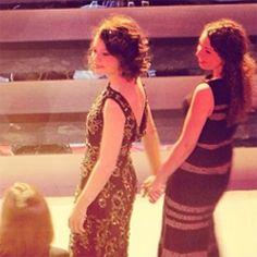Tatiana Maslany and Kathryn Alexandre - Canadian Screen Awards 2014