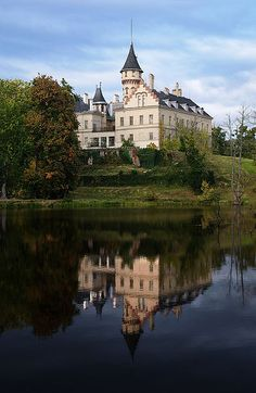 Castle Raduň near Opava, Czech Republic
