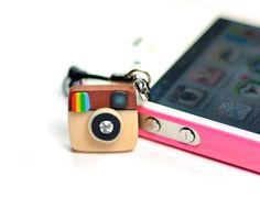 Instagram Camera miniature Earphone Jack by JnPol on Etsy, $11.00