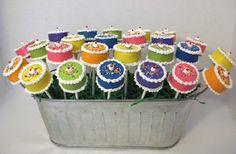 Birthday Cake Cake Pops