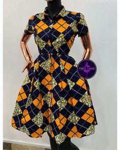 2019 Stylish and Beautiful Ankara Gown Styles - Naija's Daily African Fashion Ankara, African Inspired Fashion, Latest African Fashion Dresses, African Print Fashion, Short African Dresses, African Print Dresses, African Prints, Style Africain, Ankara Dress Styles