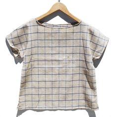 Image of Arrow Tee Grain Linen