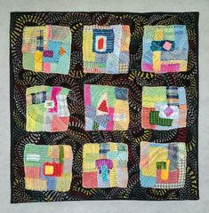 Original Quilt/ Abstract Quilt/ Wall Hangings/ Textile Artwork/ Room Decor Quilt/ Modern Quilt/ Hand Quilted/ Quilts For Sale/ Quilting Art