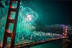 Beautiful Bridge And Fire-Works | www.way2faisal.tk