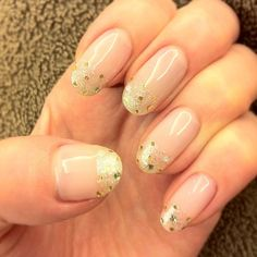 Nice french manicure for bridals