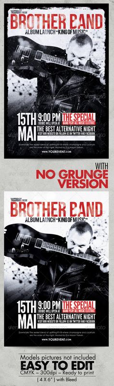 Pin by shelly lovell on Band Flyers Pinterest - band flyer template