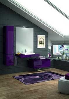 1000 images about salles de bain mauves on pinterest mauve purple bathrooms and stonington gray. Black Bedroom Furniture Sets. Home Design Ideas