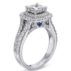 Love love love this Vera Wang engagement ring!