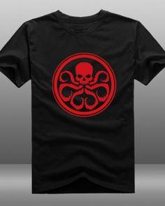 Mens Hydra t shirt short sleeve Agents of S.H.I.E.L.D. t shirt-