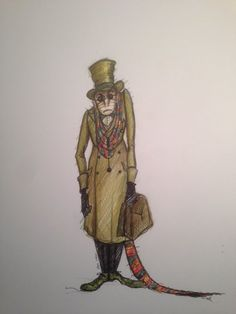 best peter pan essay images in   peter pan wendy peter pan  the doctor from wendy and peter pan costume design by colin richmond  costume design sketch