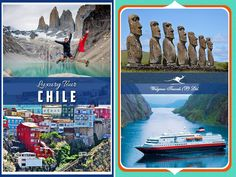 Chile occupies a long, narrow strip of land between the Andes to the East and the Pacific Ocean to the West. Holiday Destinations, Travel Destinations, Andes Mountains, Honeymoon Packages, Luxury Holidays, Pacific Ocean, Holiday Travel, Luxury Travel, Vacation Trips