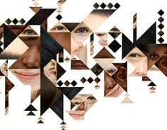 """Check out this @Behance project: """"Tangram faces"""" https://www.behance.net/gallery/14780801/Tangram-faces"""