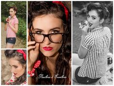 Some like pin up #pinup #models #womans #polishgirl #fashion