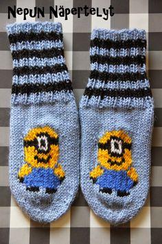 Nepun Näpertelyt: Minion sukat