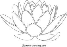 Google Image Result for http://stencil-workshop.com/Stencil/Flower/Lotus/flower-lotus-flower-1.gif