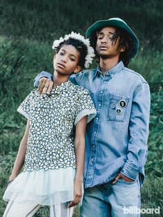 Willow Smith Jaden Smith billboard 2015
