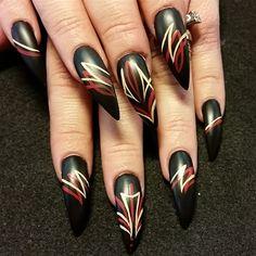pinstriping  by Oli123 from Nail Art Gallery