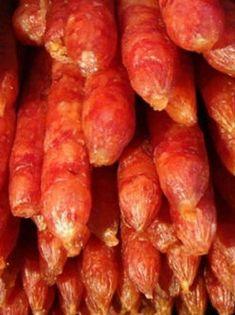 Self-made Sichuan flavor sausage