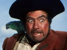 A pirate's reaction when someone says Long John Silver is a fish and chips restaurant.