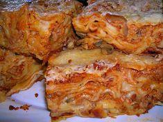 Szaftos finomság, Lasagne egy szempillantás alatt! Elronthatatlan finomság, amit csak szeretni lehet!