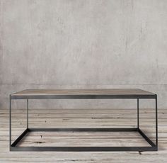 Living room: We have a giant coffee table that is similar to this one but has matching wooden trays on top. I've never figured out how to style it.