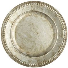 Chania Charger - Silver---My candles would look great on this!  Pier 1 Imports