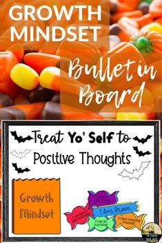 Counseling Bulletin Board For Growth Mindset Halloween Counseling Bulletin Boards, School Counseling, Inspirational Bulletin Boards, Inspirational Quotes, Halloween Bulletin Boards, Bullentin Boards, Dream Job, Growth Mindset, Social Work