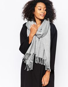Monki | Monki Soft Tassel Scarf at ASOS
