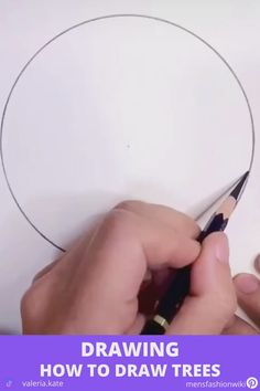 Let's watch this tutorial video Abstract Pencil Drawings, 3d Art Drawing, Art Drawings Sketches Simple, Art Drawings Beautiful, Art Drawings For Kids, Tree Pencil Sketch, Nature Sketches Pencil, Pencil Sketches Easy, Hard Drawings