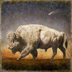 White buffalo.