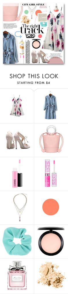 """""""City Girl Style With Yoins"""" by tasnime-ben ❤ liked on Polyvore featuring ASOS, MAC Cosmetics, Maybelline, Topshop, Christian Dior, Bobbi Brown Cosmetics, yoins and yoinscollection"""