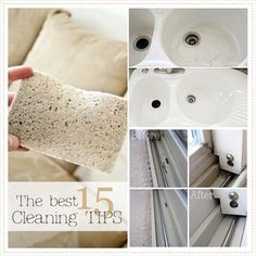 15 cleaning amazing tips and tricks that I wish somebody else would do in my home...but for now, this goes in DIY:0(