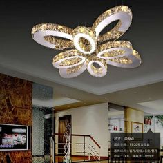 Crystal chandelier ceiling Three colors with remote control modern chandeliers lighting fixtures Lustres de cristal Cheap Chandelier, Chandelier Lighting Fixtures, Chandelier Ceiling Lights, Modern Chandelier, Chandeliers, Light Red Color, Modern Led Ceiling Lights, China Lights, Buy Crystals