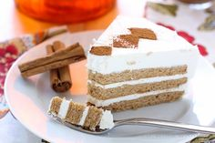 Chai Cake with Swiss Meringue Buttercream