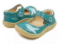 Gorgeous Teal PIO PIO Mary Janes for Fall! $59