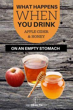 apple cider vinegar and honey water