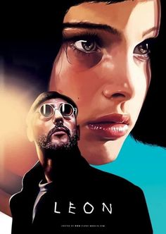 Léon: The Professional, titled Leon in the UK and Australia, is a 1994 English-language French action thriller film written and directed by Luc Besson. It stars Jean Reno, Gary Oldman, and Natalie Portman Movie Poster Art, Poster S, Movies And Series, Movies And Tv Shows, Film Movie, Comedy Movies, Mathilda Lando, Film Mythique, Beau Film