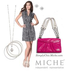 """""""Miche Classic Cheery"""" by miche-kat on Polyvore  http://www.simplychicforyou.com/"""