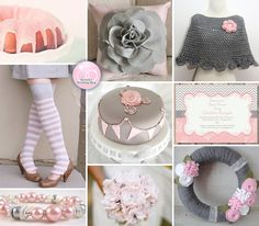 A Handmade Pink and Grey Winter Wedding Inspiration Board | BrendasWeddingBlog.com