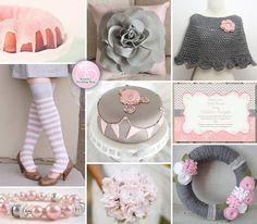 A Handmade Pink and Grey Winter Wedding Inspiration Board | BrendasWeddingBlog.com