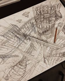 Artist Creates Meticulously Architecture Sketches of Buildings Around the World Architecture Drawing Sketchbooks, Architecture Sketches, Architecture Artists, Drawing Sketches, Art Drawings, Sketching, Pencil Drawings, Building Sketch, Pin Up Art